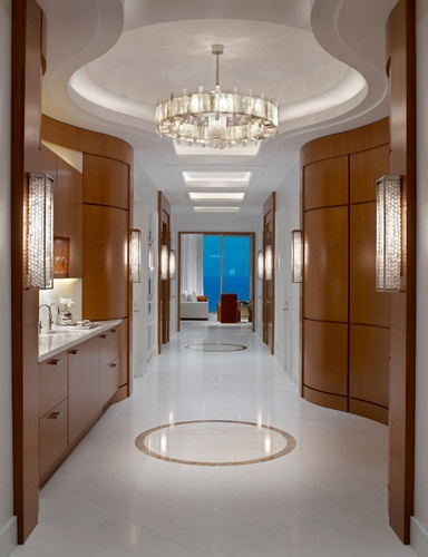 Ocean Penthouse Miami Beach - contemporary - bathroom - miami - alene  workman interior design,