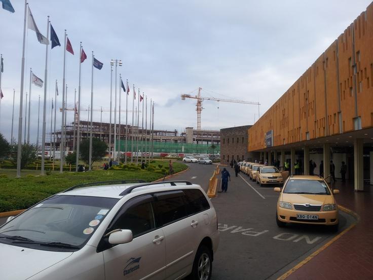 Jomo Kenyatta Int' Airport