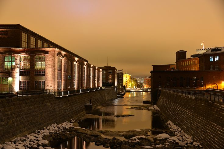 The old wool/cotton mills and power plants of Tampere, the industrial heritage | Tammerkosken yläjuoksu