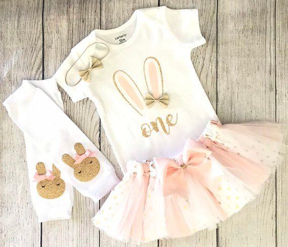 Some Bunny is One Dress 1st Birthday Dress Easter Dress First Easter Outfit First Birthday Dress Easter First Birthday Dress Easter Outfit