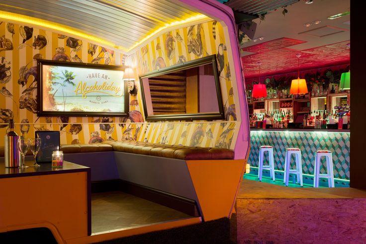 Barrio East - Shoreditch, London  Bar Furniture London   Fitz Impressions