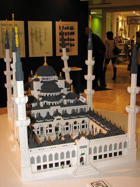 LEGO Blue Mosque | Flickr - Photo Sharing!