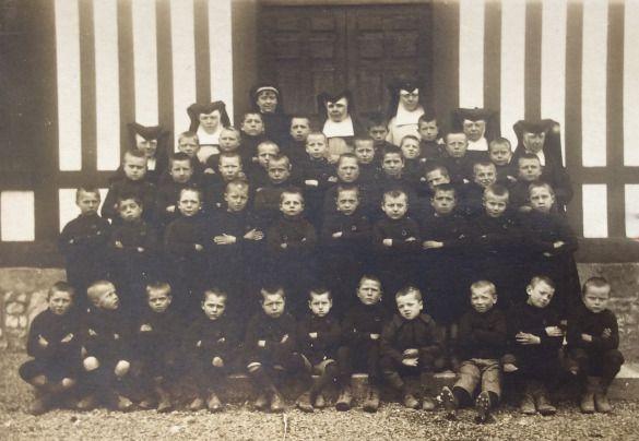 schoolkolonies eerste wereldoorlog