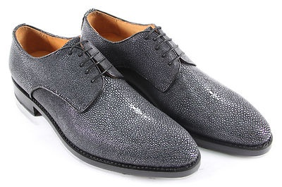 Handmade Luxury Stingray Fashion Shoes  Genuine Stingray Skin Upper  Lamb Skin Liner  Goodyear welt  Leather Sole  Channel Stitching    The ultimate statement shoes!