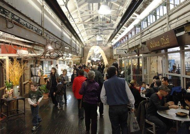 Chelsea Market: paraíso das compras! (Foto:  Joe Buglewicz / NYC & Company)