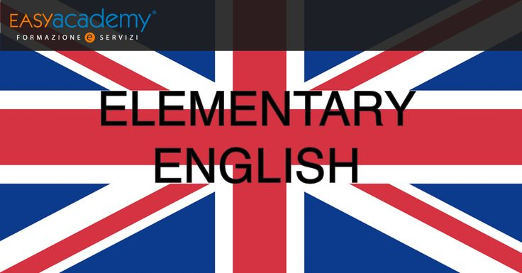 Impara l'inglese facilmente con il corso #easyacademy in Elementary English! ▶▶▶▶ http://goo.gl/WHzqDp