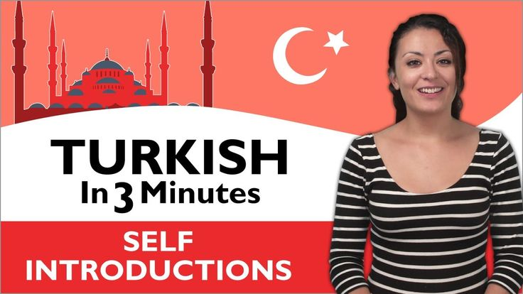 So, 3 minutes of Turkish which took 3 seconds to forget... Well, nice anyway. --- Learn Turkish in 3 minutes!  8 videos covering basic phrases