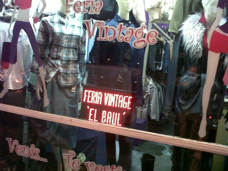 Feria Americana Vintage. Pacífico. Buenos Aires. Argentina