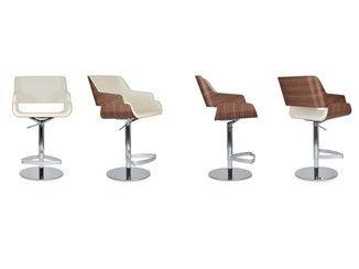 Cadeira alta giratória com apoio de pés ROSE STOOL | Cadeira alta - Riccardo Rivoli Design