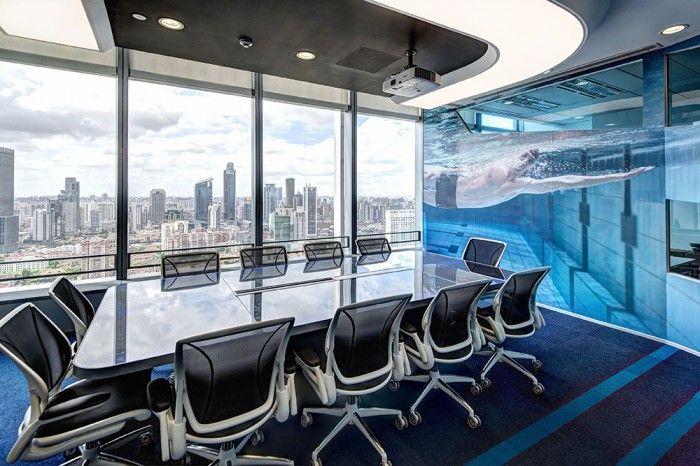 Inside Adidas' Shanghai, Athletic-Inspired Headquarters