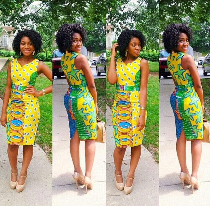 Wdn lovely ankara styles inspiration wedding digest naija african fashion pinterest - Dressing modellen ...
