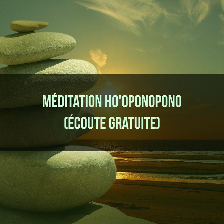 Voici une méditation basée sur l'Ho'oponopono. Elle vous permettra de guérir de blessures psychologiques, de vous apaiser et de tourner votre esprit vers des pensées positives et créatives. Idéal avant de s'endormir ou juste au