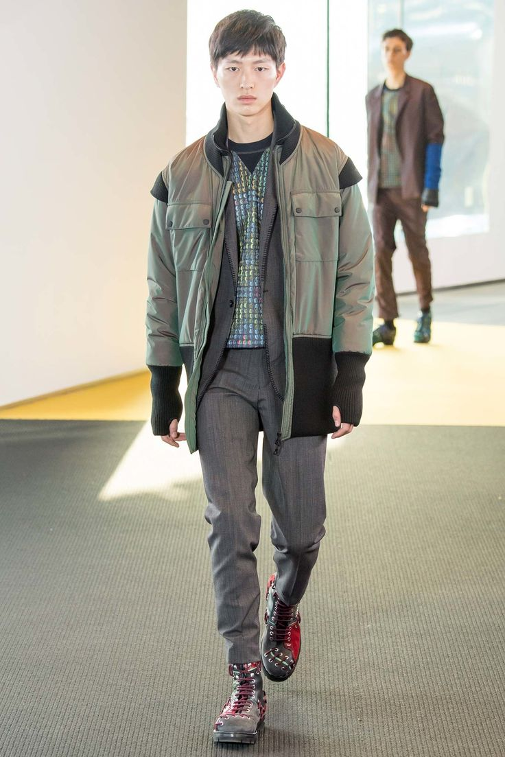 Bomber - Kenzo Fall 2015 Menswear Fashion Show