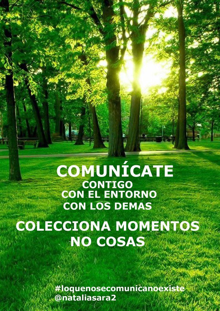 Cada día esfuérzate es mejorar la comunicación contigo y con los demás.
