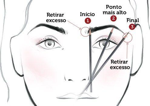 Aprenda como corrigir sobrancelhas com maquiagem e deixá-las lindas! Sem falhas e com formato de acordo com o seu tipo de rosto.