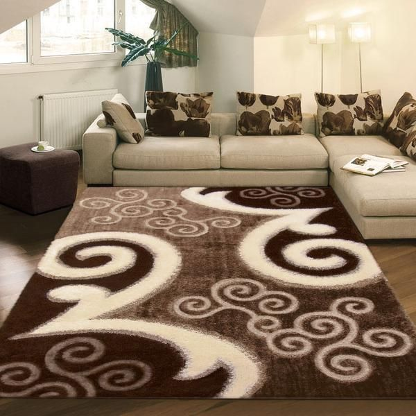 SHAGGY LUXURY FREE HAND DESIGN RUGS