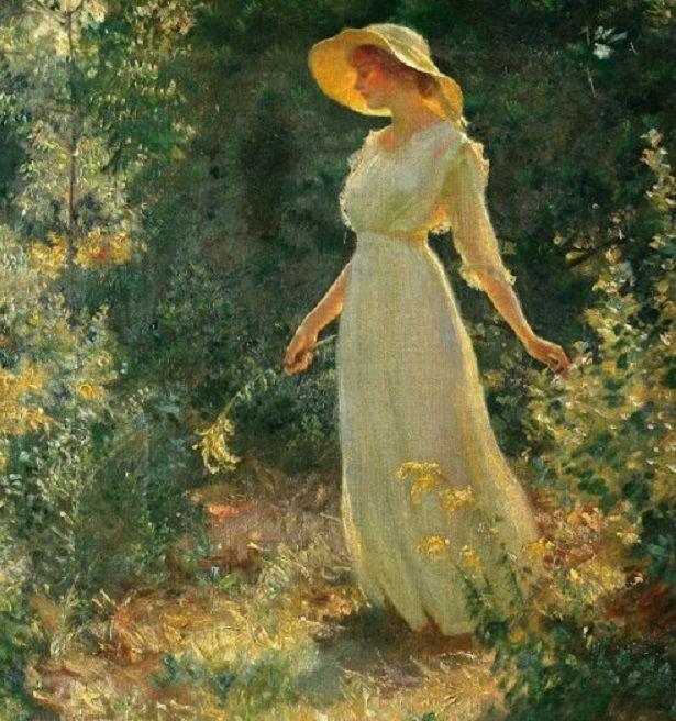 A kertben - In the Garden - - - A kertben megtett minden egyes lépés, egy lépés, egy csendes öröm felé…