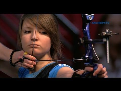Learn proper recurve archery (i.e., posture, strength, aim, etc.)