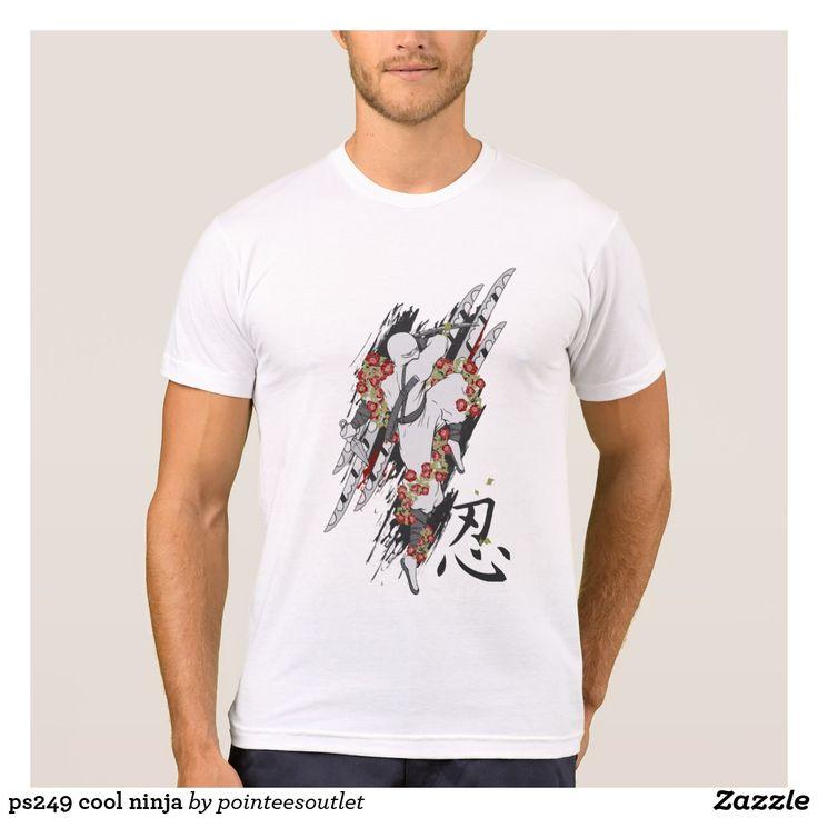 ps249 cool ninja tees #tees #tshirt #t-shirt #shirt #skull #cool #clothing
