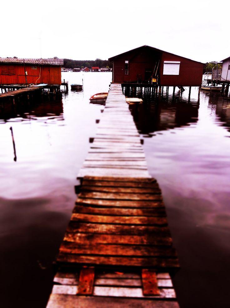 Bokod - road on water