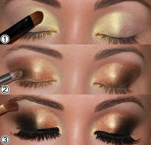 Fotos de moda   14 Tutoriales de maquillaje para Ojos ahumados   http://fotos.soymoda.net