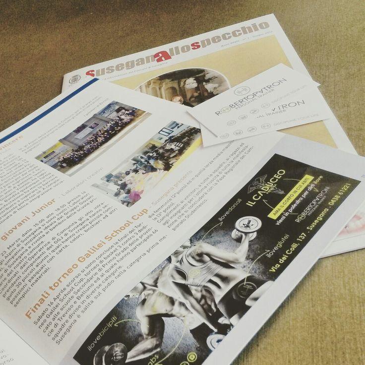 Inserimento pagine pubblicitarie #indesign #adobe #designer #sports #atipikadesign #angela dalto