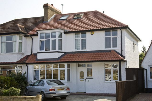 Love this two floor extension mainly because the house looks like it was built this size rather than extended...