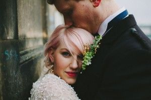Springtime Edinburgh City Centre Wedding: Will & Rowan - very cool!