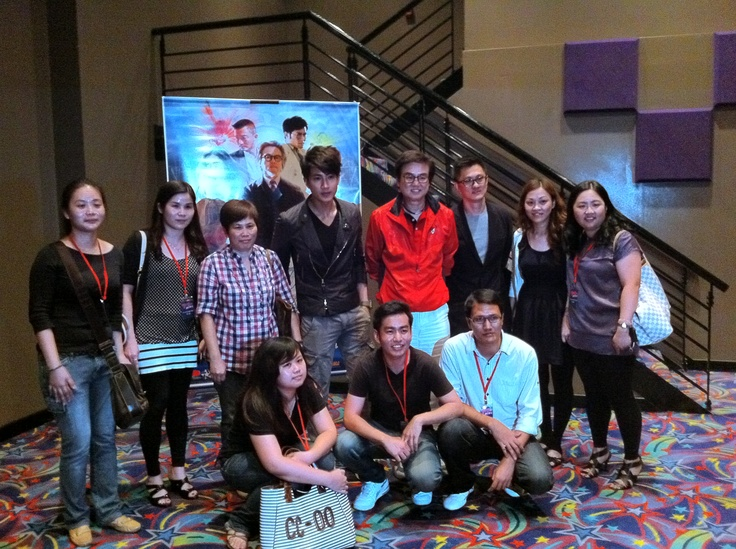 Magic to Win cast at TGV KLCC