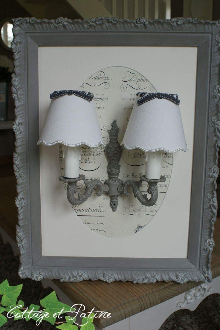Créations luminaires personnalisées selon vos goûts | Cottage et Patine