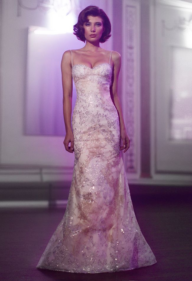 Anne Bowen Spring 2014 Wedding Dress