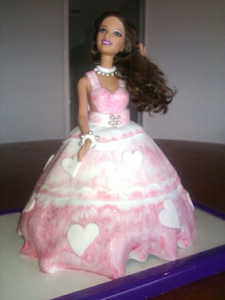 a doll cake for a special girl