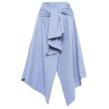 feb8657eb Saia Origami Circo WYMANN - Azul | Matérias
