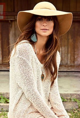 Boho Chic...Love Cream shades with Tan and Brown. And then, a pop of color like Turquoise.
