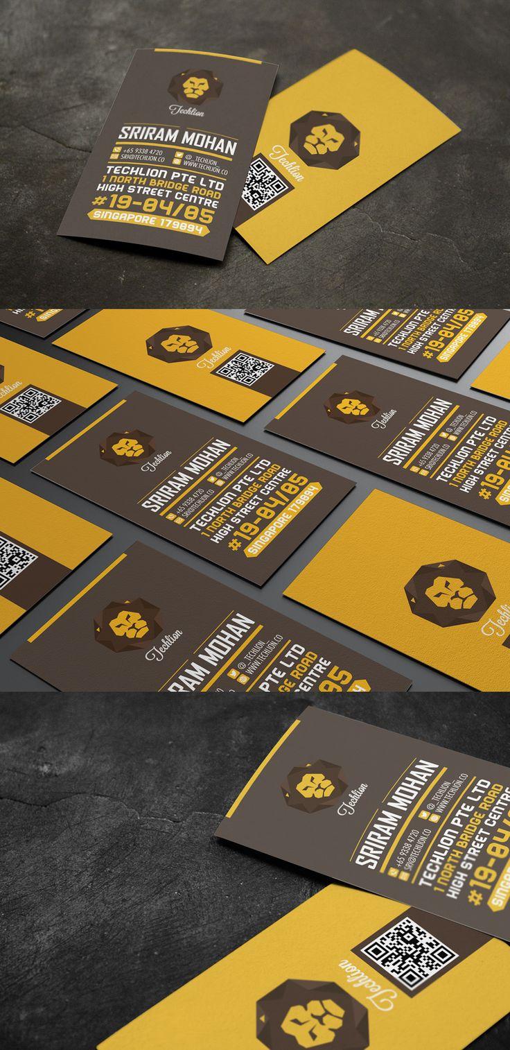 Mais de 30 Inspirações em Cartões de Visitas-Des1gn ON - Blog de Design e Inspiração. #businesscard