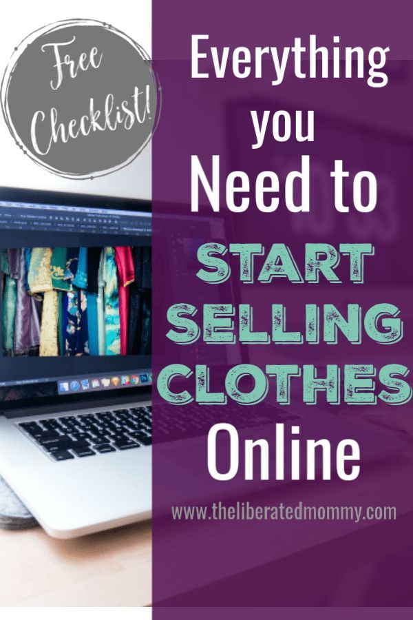 Start Reselling Clothes On Ebay Reseller Starter Kit List Start Online Business Selling On Ebay What To Sell