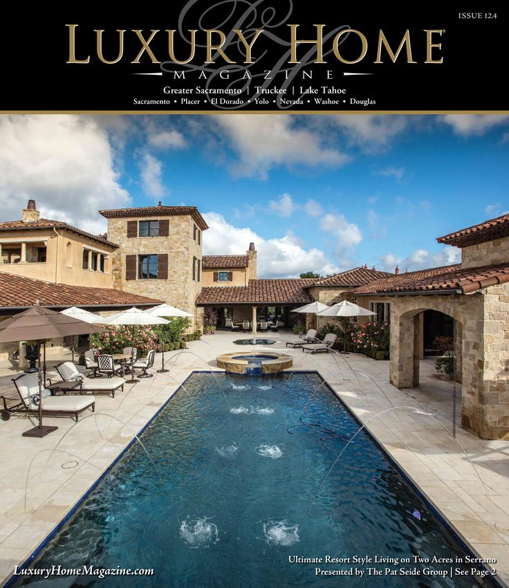 Lake Tahoe Luxury Homes: 452 Best Luxury Home Magazine Front Covers