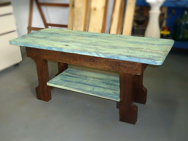 Shabby Chic Pallet Coffee Table Pallet Coffee Tables