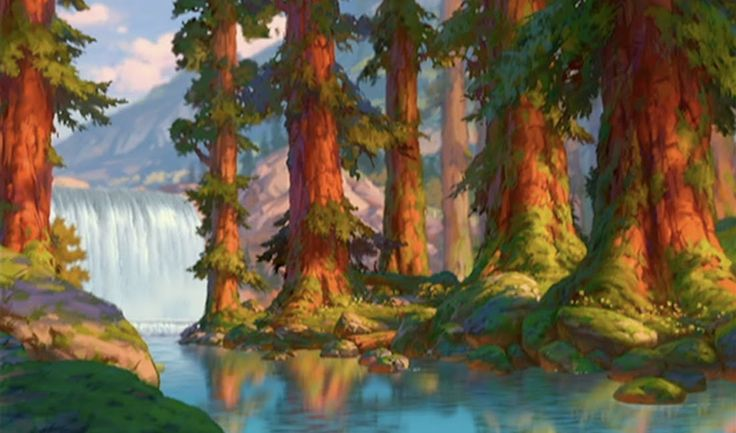 Animation Backgrounds: BROTHER BEAR