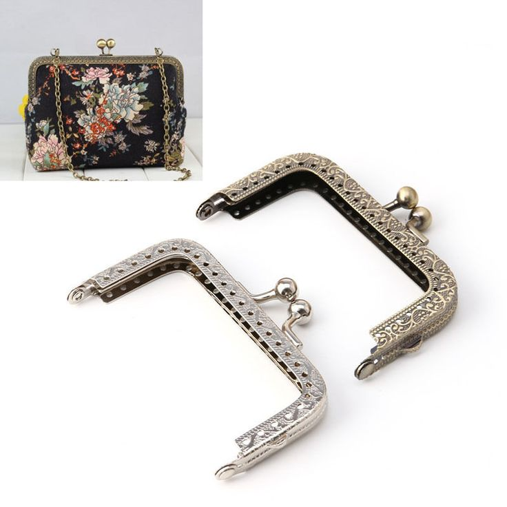 1Pc x Bag Purse Semi-circular Arch Frame Metal Kiss Clasp Handle For Handbag Wallet. Used for bags, handbag ,purse, shoulder strap bag ; and a great gift to yourself or your family and friend ! Made of metal, mounted on a bag, to open up, effect of bag mouth opening and closing, but more convenient. | eBay!