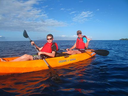 Maui's BEST Kayaking and Snorkeling eco-adventure tours.