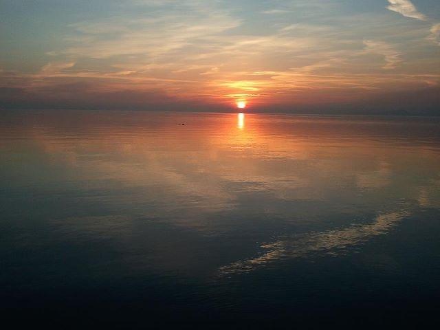 Sunset- Garda Lake