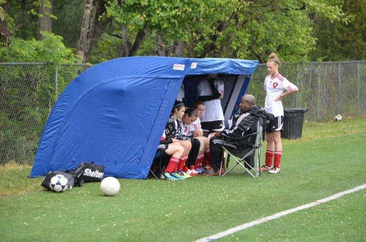 Premier portable shelter tent soccer lacrosse baseball