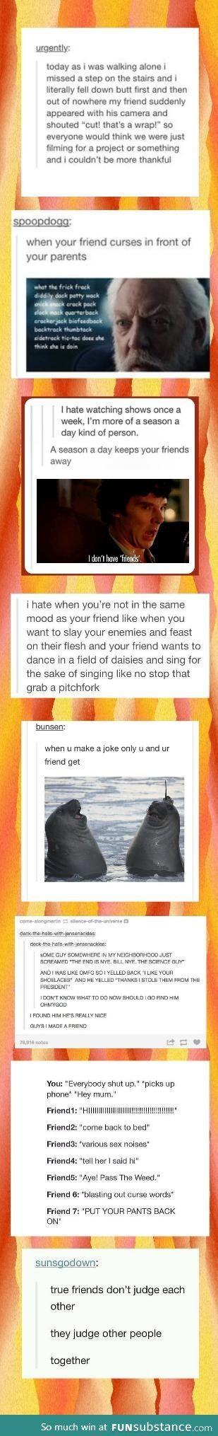 Friendship Tumblr Comp