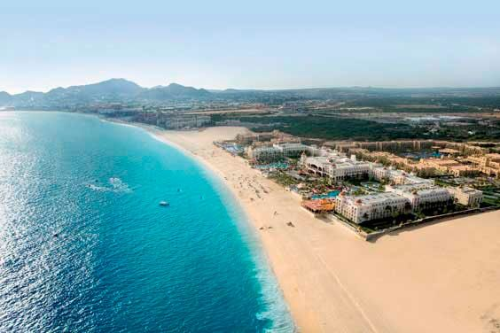You can find the Hotel Riu Santa Fe (All Inclusive 24h) in the south of the peninsula Baja California and just a few minutes away from Cabo San Lucas, Mexico. Hotel Riu Santa Fe - Hotel in Los Cabos, Mexico - RIU Hotels & Resorts