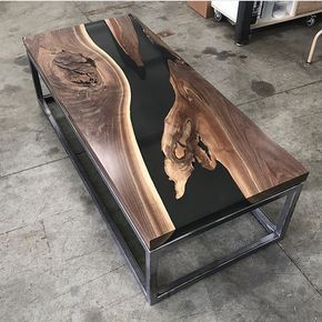 "8,227 Likes, 232 Comments - Woodworking | Toronto | Design (@jeffmackdesigns) on Instagram: ""This table by @phenomcreative though!! Would love to hear your thoughts on this coffee table! ⬇️…"""