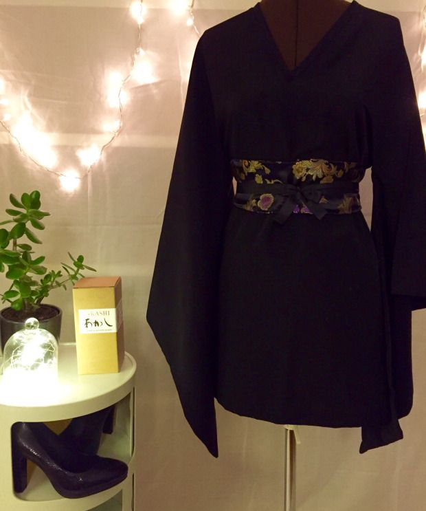 DIY – Robe kimono et ceinture obi     Déguisements   Pinterest   Sewing,  Couture sewing et Kimono 95a390db05d