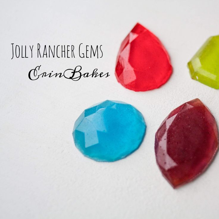 If melting and pouring hot sugar isn't your thing, but you'd love to make your own edible jewels & gems, then this is the tut for you! Instead of melting candy and then working at the speed of ...