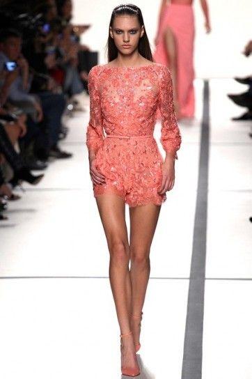 Mini jumpsuit di Elie Saab