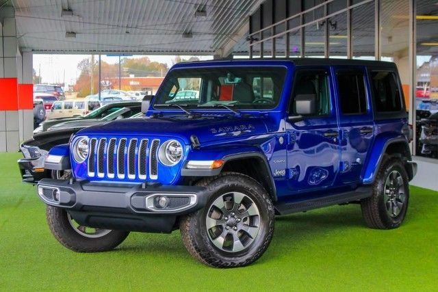 Ebay 2018 Jeep Wrangler 2018 Jeep Sahara Loaded Jeep Jl Blue